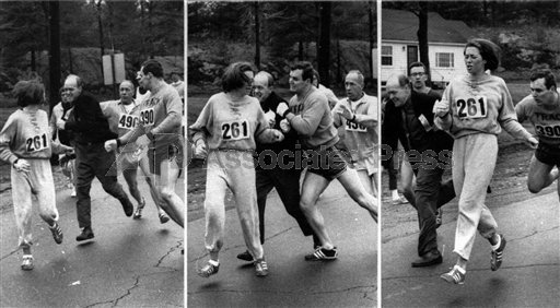 Kathrine Switzer Boston 1967