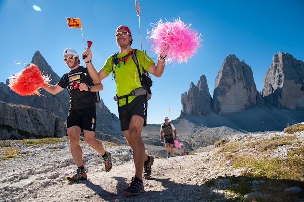 Trudny i piękny wyścig Gore-Tex Transalpine Run. Fot. Piotr Dymus
