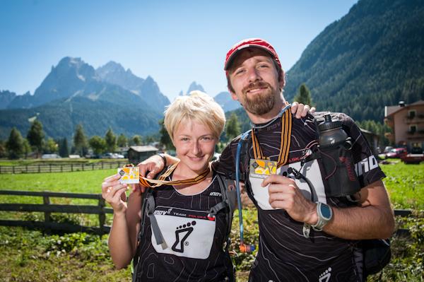 Najcennieszy medal to ten, na którego trzeba ciężko zapracować. Gore-Tex Transalpine Run. Fot. Piotr Dymus