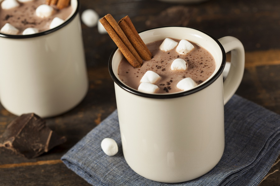 Gorąca czekolada dla biegacza. Fot. Istockphoto.com