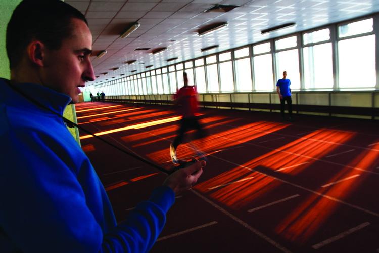 Michał Kaczmarek i Jakub Wolski - profesjonalny biegacz kontra amator