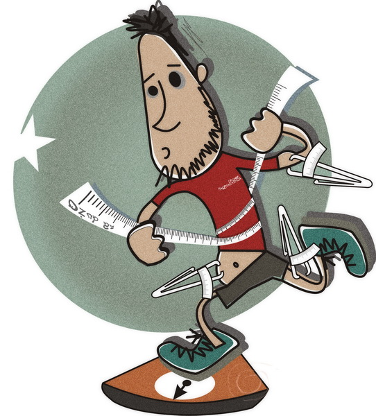 Jak ocenić idealną wagę biegacza? Jak odchudzać się poprzez bieganie?
