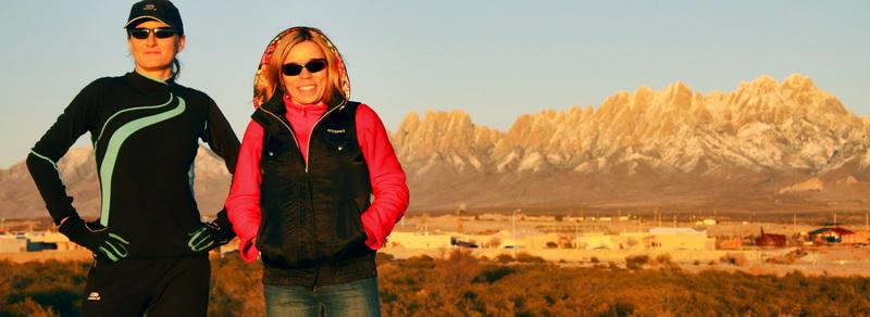 Ola Jakubczak i Dorota Gruca w Las Cruces