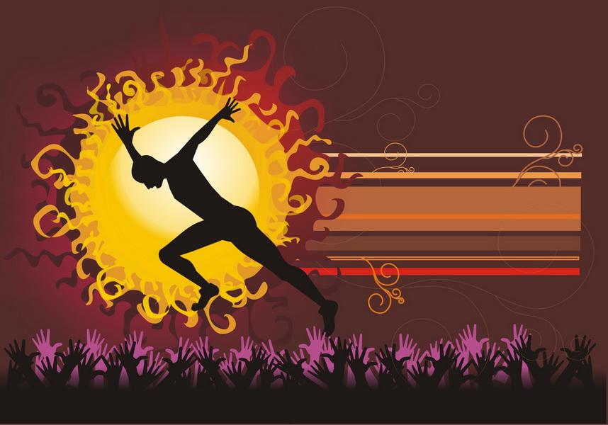 Zgoda na cierpienie w czasie biegu pozwala osiągnąć lepszy wynik. Rys. Magdalena Ostrowska-Dołęgowska