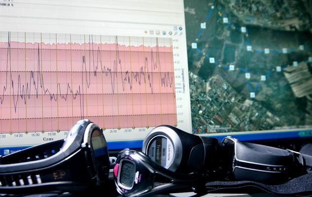 SportTracks - dziennik treningowy pozwalający na analizę treningu biegowego. Fot. Krzysztof Dołęgowski