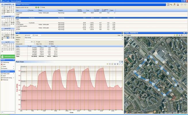 SportTracks - dziennik treningowy pozwalający na analizę treningu biegowego