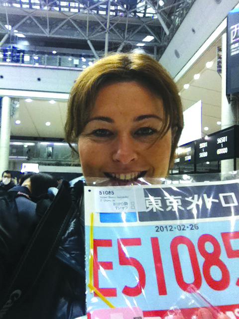 Beata Sadowska, maraton w Tokio