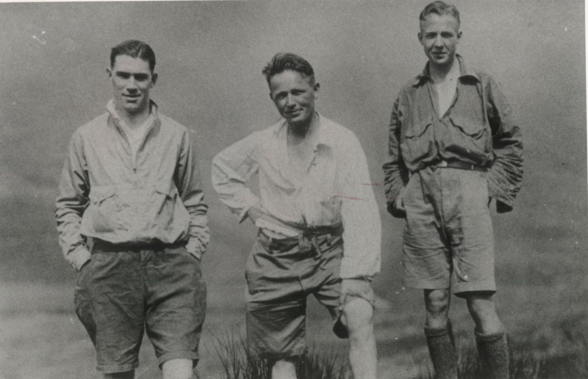 Bob Graham i pacemakerzy na Dunmail Raise 1932