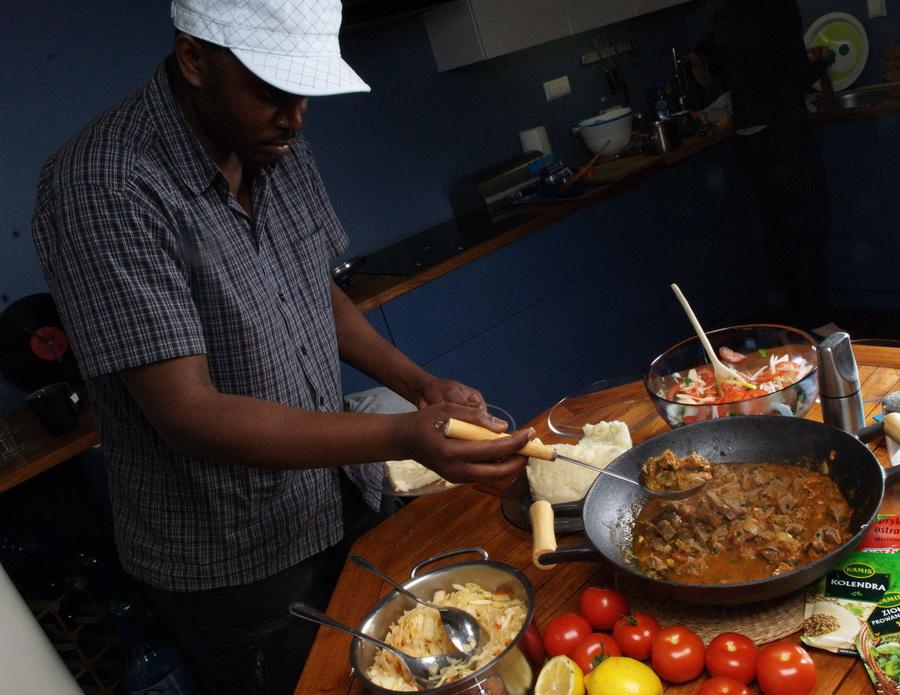 Gotujemy jak kenijscy biegacze. Fot. Krzysztof Dołęgowski