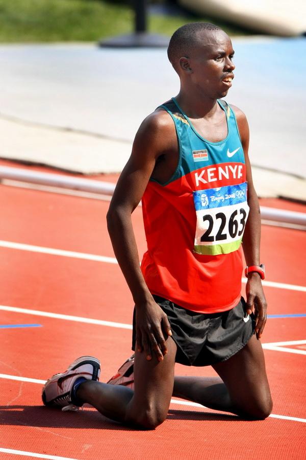 Samuel Wanjiru. Fot. PAP