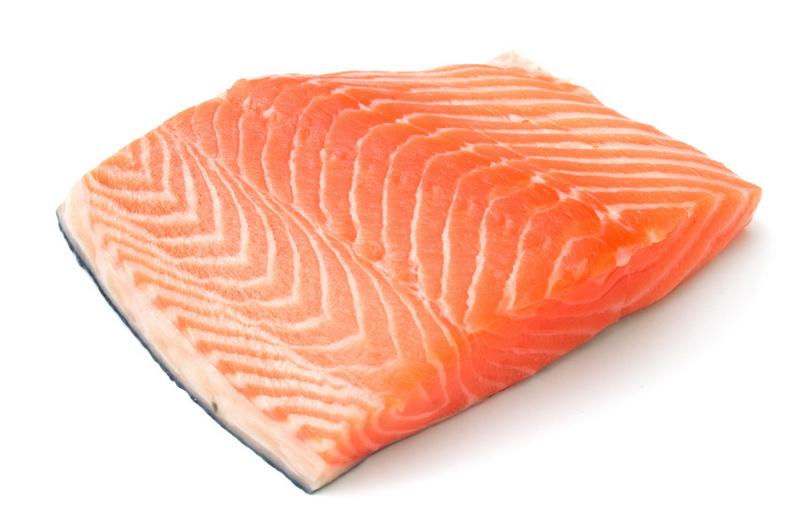 Łosoś - źródło kwasów tłuszczowych omega 3 dla biegaczy