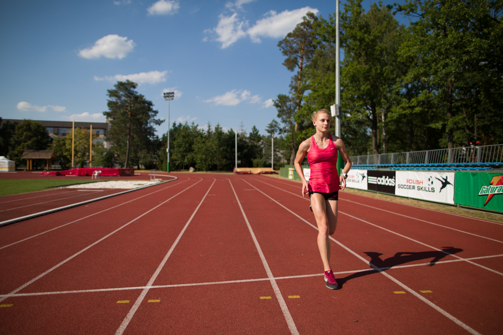 Patrycja Wyciszkiewicz. Talent na 400 m. Fot. Jakub Rubaj