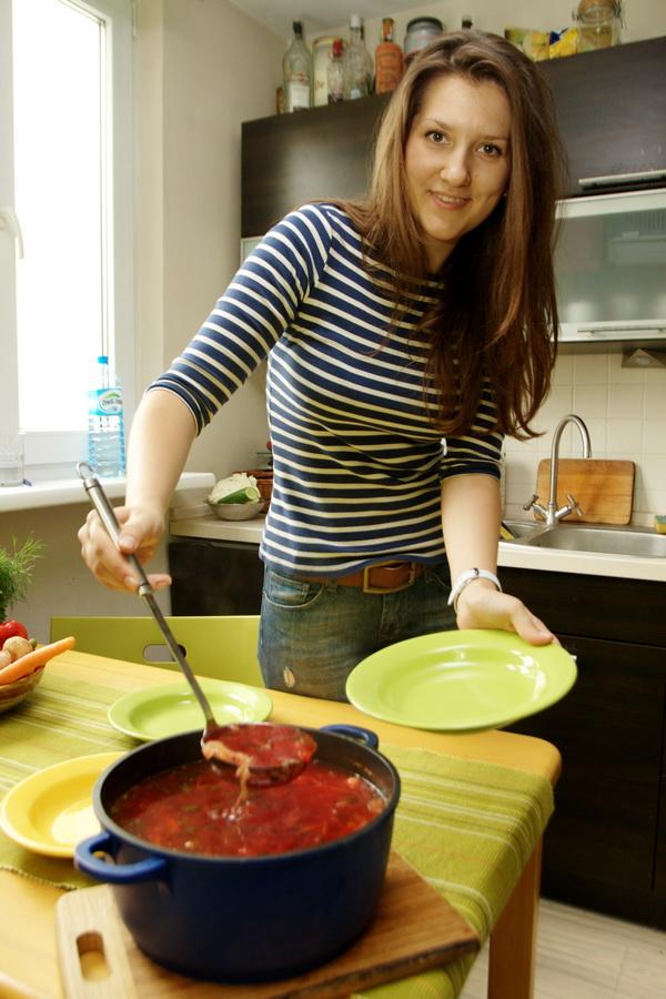 Iulia Ganiieva gotuje dla biegaczy