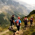 Ultra-Trail du Mont-Blanc - na trasie UTMB Fot Piotr Dymus