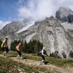 Ultra-Trail du Mont-Blanc - z widokiem na gory Fot Piotr Dymus