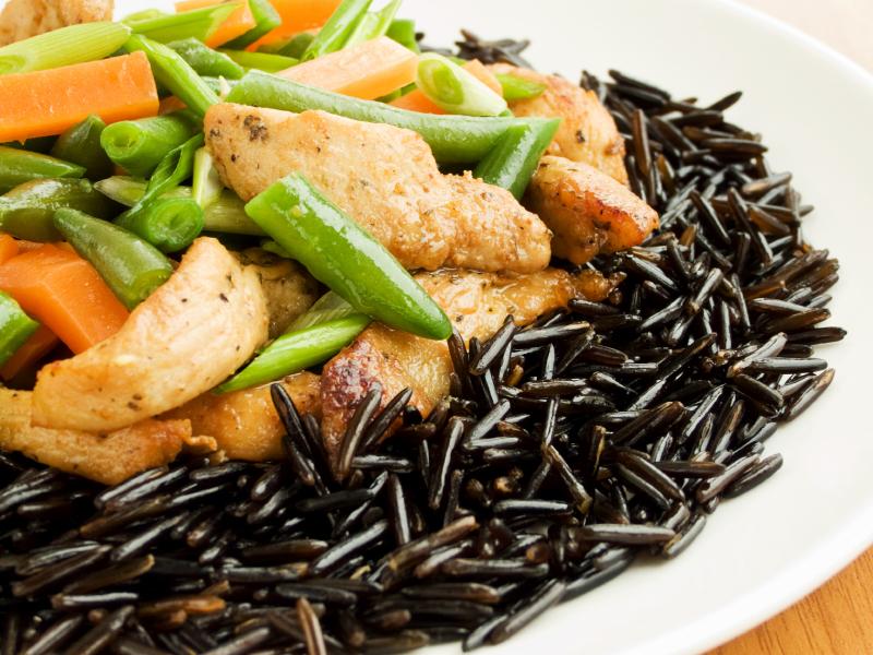 Ryż z kurczakiem. Fot. Istockphoto.com