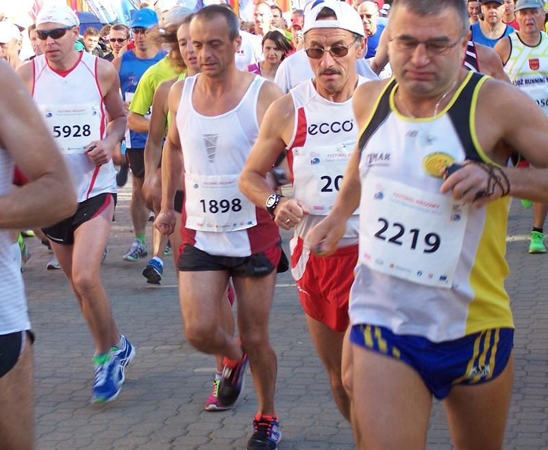 napieranie od startu Koral Maraton
