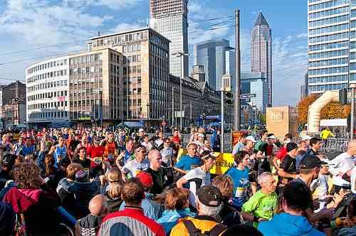 Frankfurt Maraton impresja