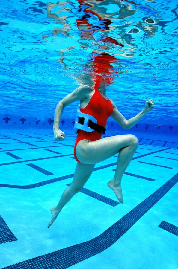 Aquajogging. Fot. Getty Images/Flash Press Media