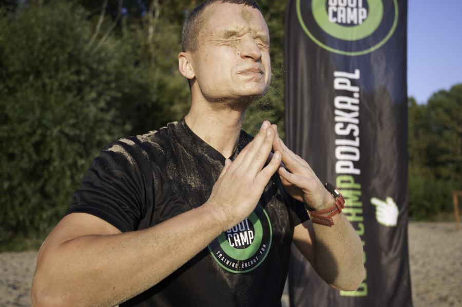 Boot Camp - Piotr Tartanus trener Fot Piotr Dymus