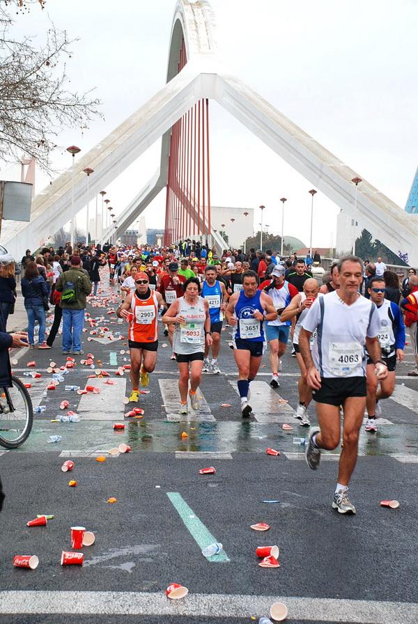 Maraton w Sewilli - jeden z licznych mostów. Fot. Marek Tronina