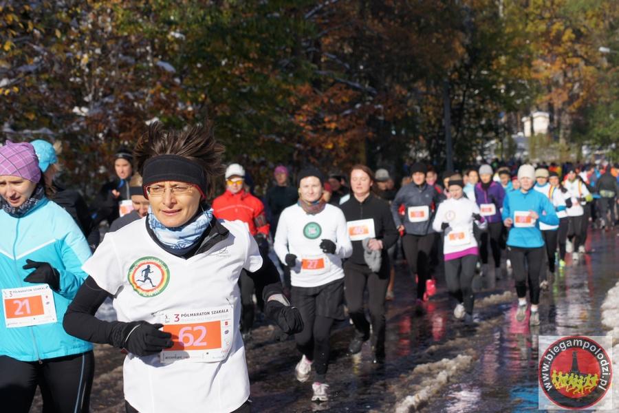 Półmaraton Szakala - startDSC00046