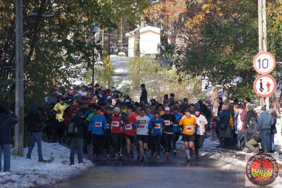 Półmaraton Szakala - startDSC00089