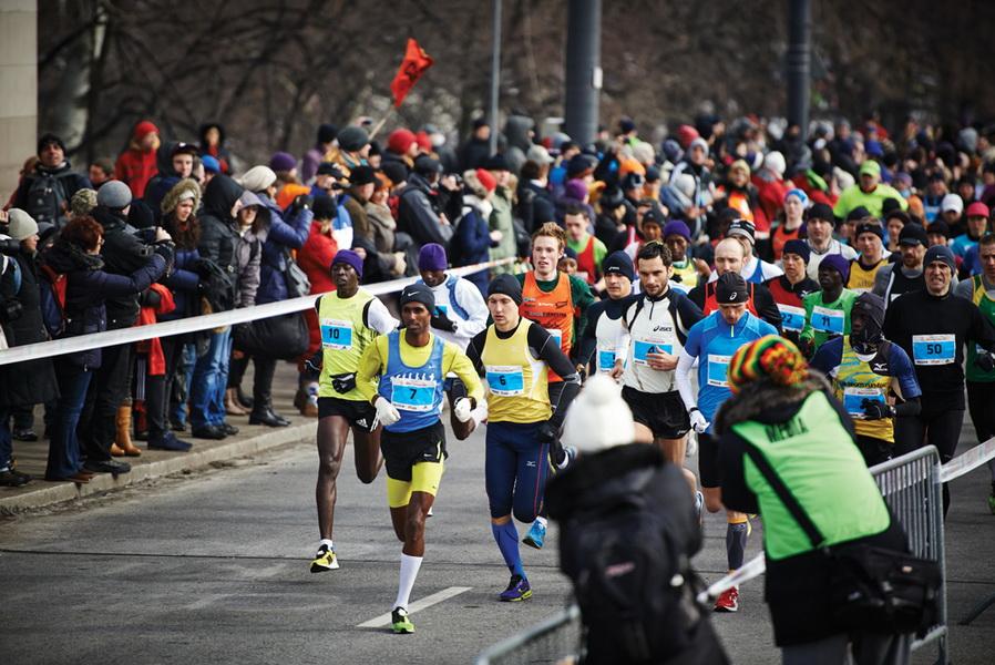 """Półmaraton Warszawski. Fot. Archiwum Fundacji """"Maraton Warszawski"""""""