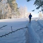 Bieganie zimą. Fot. Magda Ostrowska-Dołęgowska