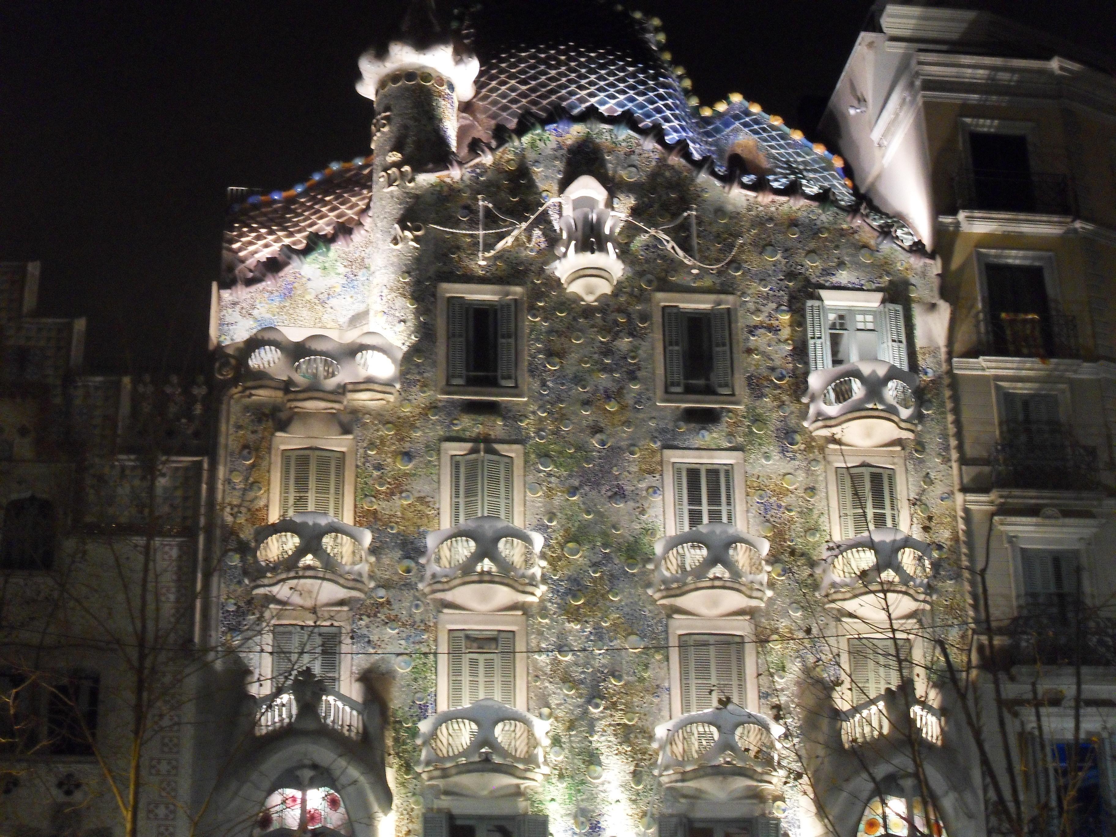Barcelona - dom Gaudiego