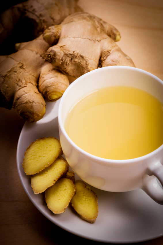 Herbata ze świeżym imbirem. Fot. Istockphoto.com