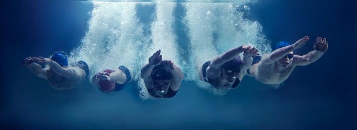 Trening pływacki