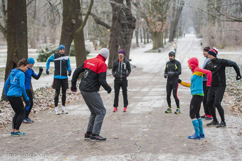 Zajęcia z poprawy techniki biegu. Fot. Piotr Dymus