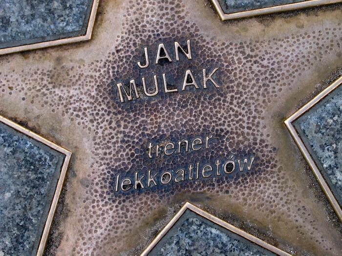 Jana Mulak w Alei Gwiazd we Władysławowie-Cetniewie, koło Ośrodka Przygotowań Olimpijskich. Fot. East NEws/ Paweł Salwa