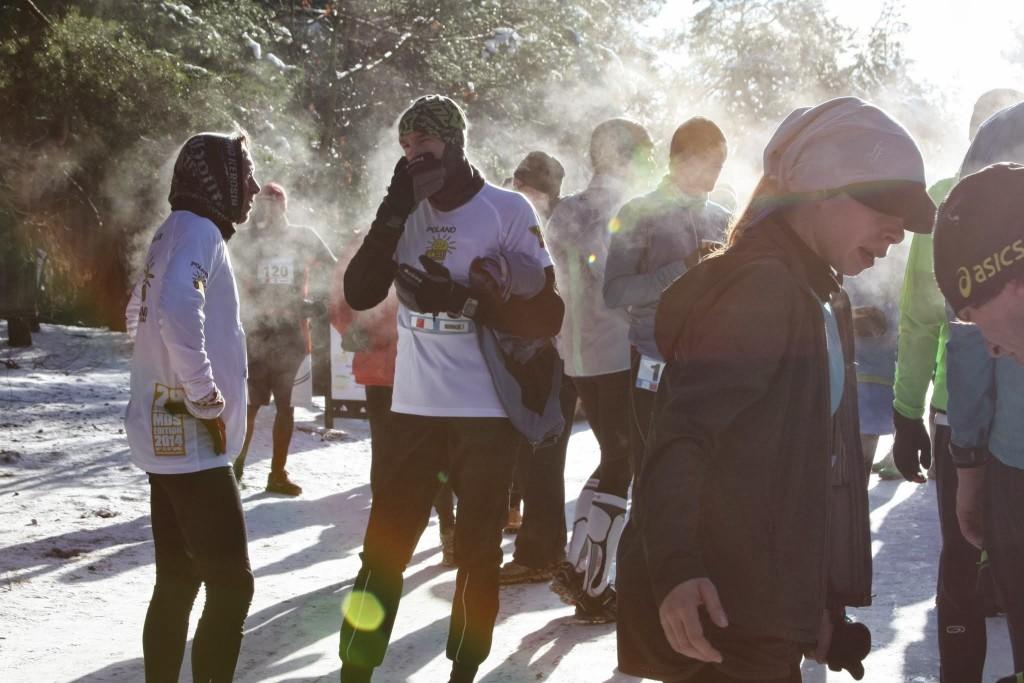Zimowe Biegi Górskie w Falenicy. Fot. Joanna Parafinowicz