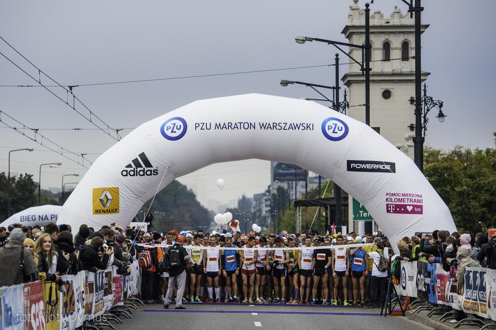 Maraton Warszawski fot. Piotr Dymus
