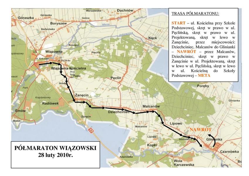 Półmaraton Wiązowski. Fot. Materiały organizatora