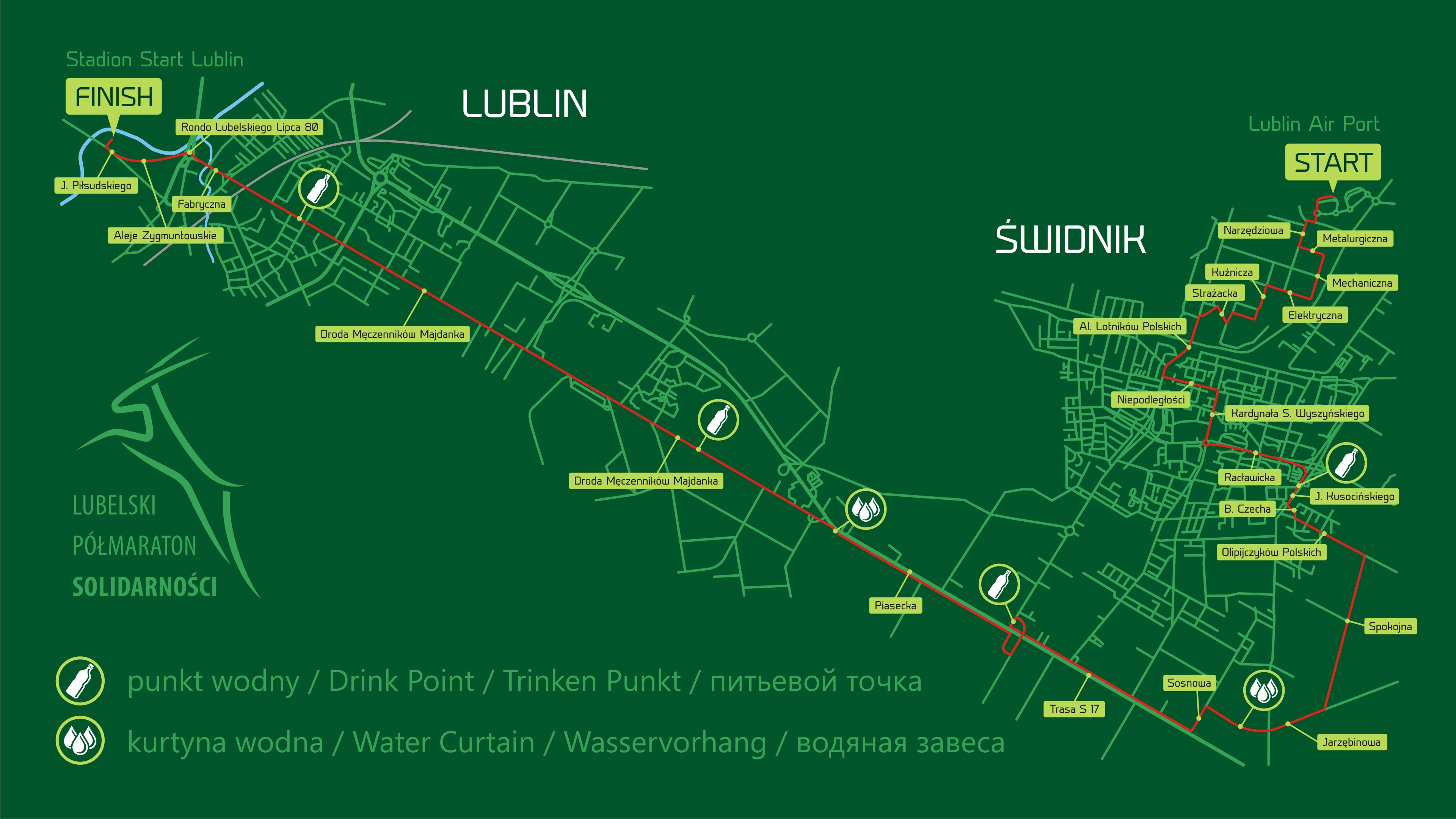 mapa_trasy półmaratonu solidarności