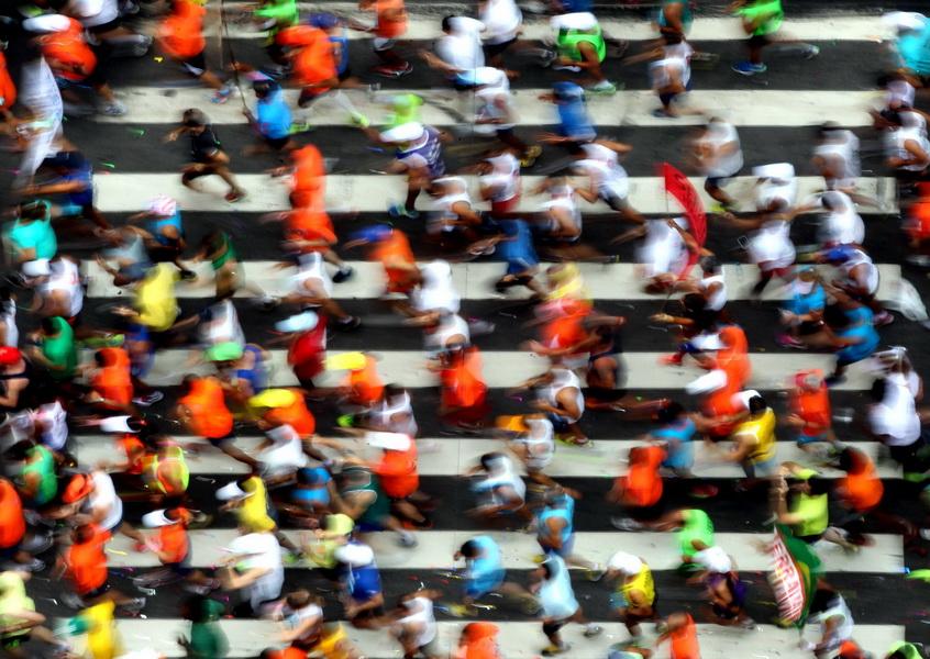 89. Bieg Sylwestrowy w Sao Paulo. Fot. PAP