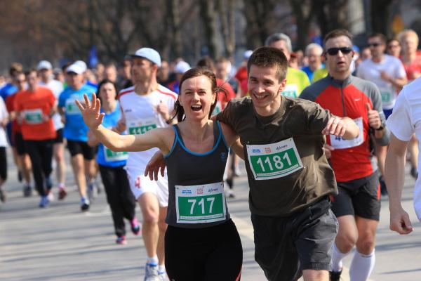 Łukasz Zołądz - Półmaraton Marzanny