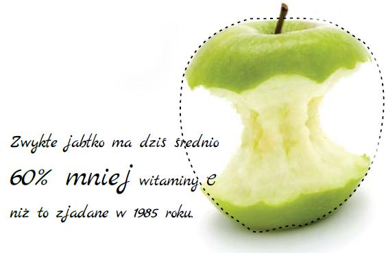 Jabłko i witaminy dla biegaczy. Rys. Krzysztof Dołęgowski/ istockphoto.com