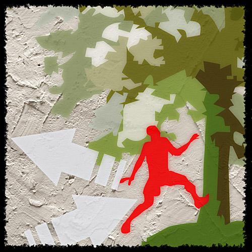 Trening biegacza nie musi być nudny. Baw się. Rys. Krzysztof Dołęgowski