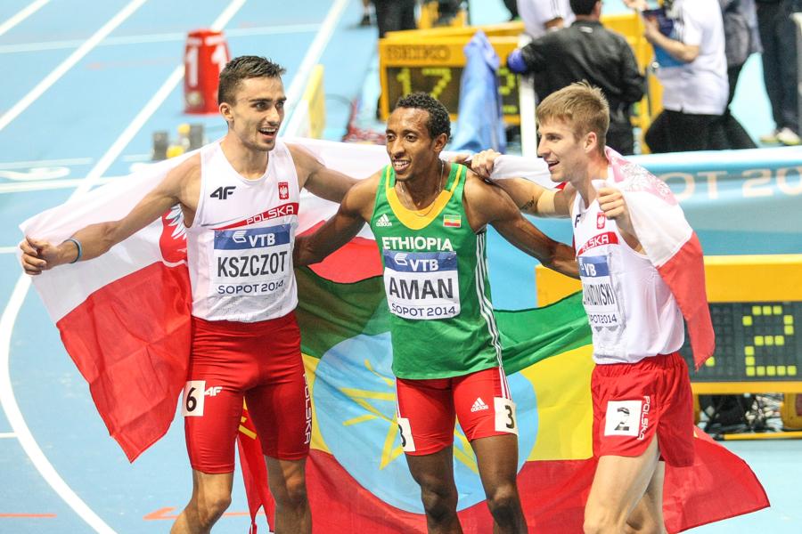 Trójka pierwotnych medalistów, w tym dwóch Polaków...