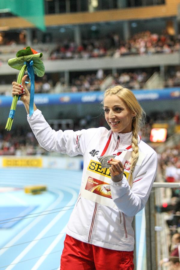 Angelika ze srebrnym medalem mistrzostw świata