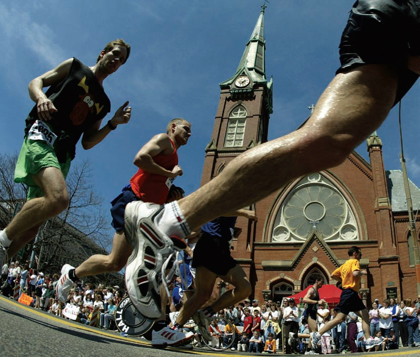 Boston Maraton. Fot. Getty Images