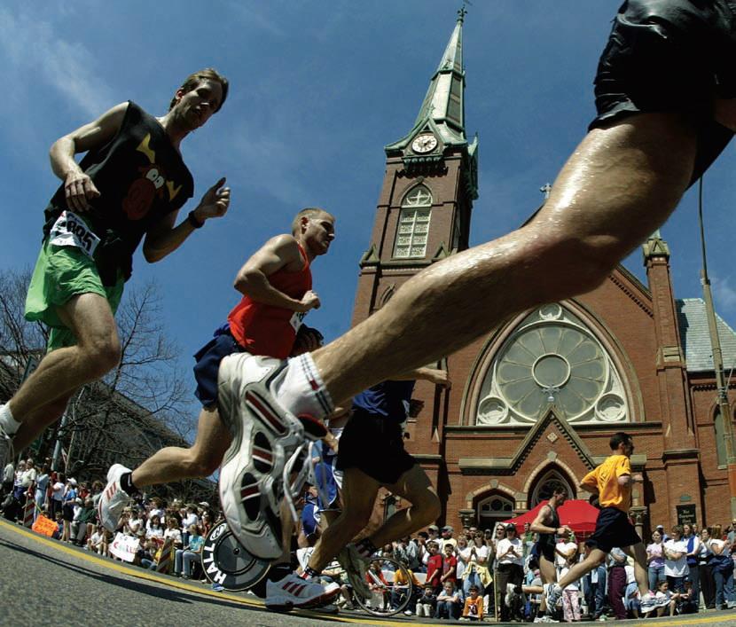 Boston Maraton. Fot. Getty Images
