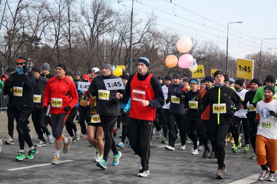 Półmaraton Warszawski 2013 fot. Marta Szewczuk