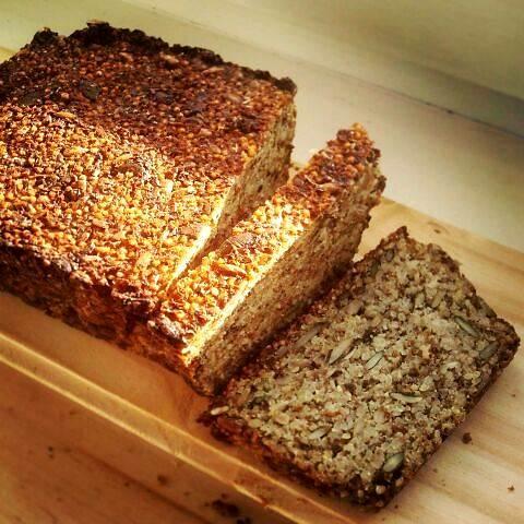 kanapka biegacza - chleb z kaszą jaglaną fot. małgorzata nowak