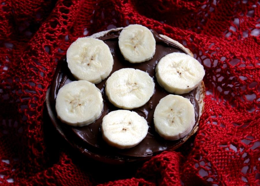 kanapka z nutellą i bananem fot. Marta Szewczuk