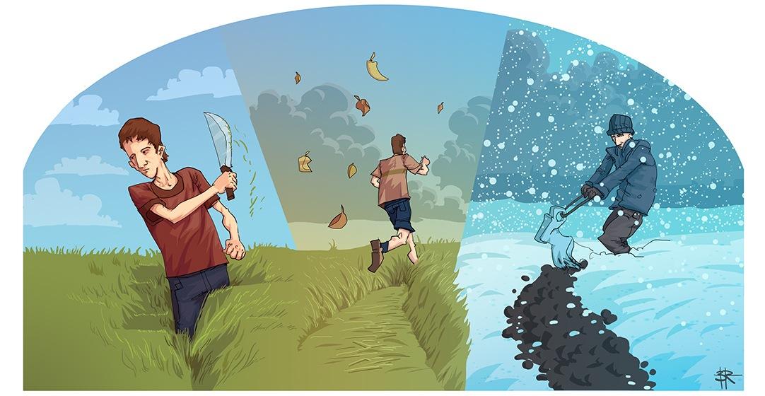 Jak złamać 3 godziny w maratonie? Rys. Bartek Różycki